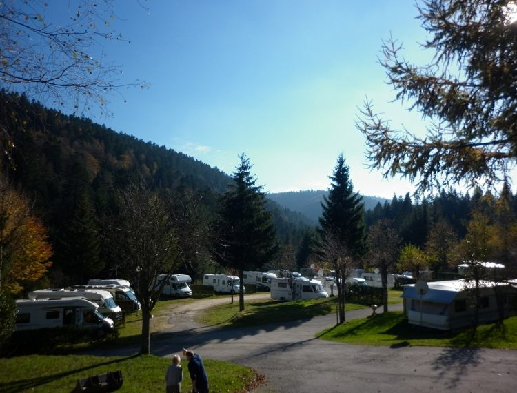 emplacement camping Vosges